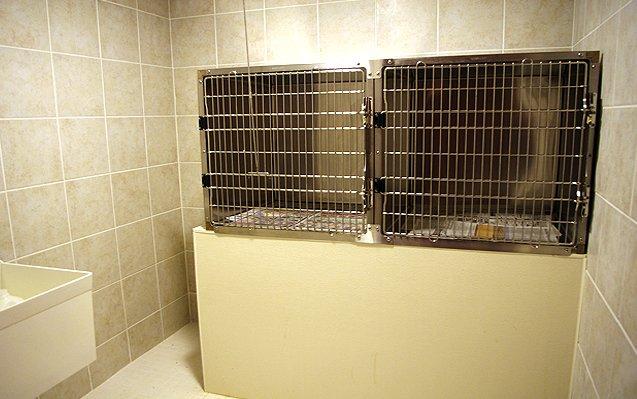 Pet quarantine quarters
